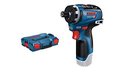 Bosch Professional 12V System GSR 12V-35 HX - Atornillador a batería (35 Nm, Ø máx. tornillo 10 mm, sin batería, en...