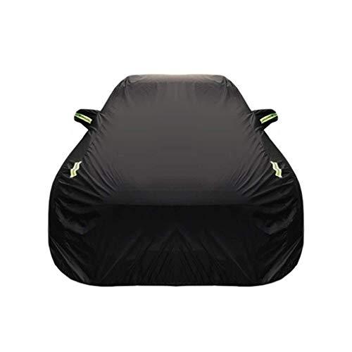 XWYSD Kompatibel mit Alfa Romeo Giulietta Car Cover Outdoor Dust Cover Oxford Cloth Car Persenning Auto Kleidung Sonnenschutz Isolierung UV Kratzer beständig Allwetter Breathable volle Auto-Abdeckung