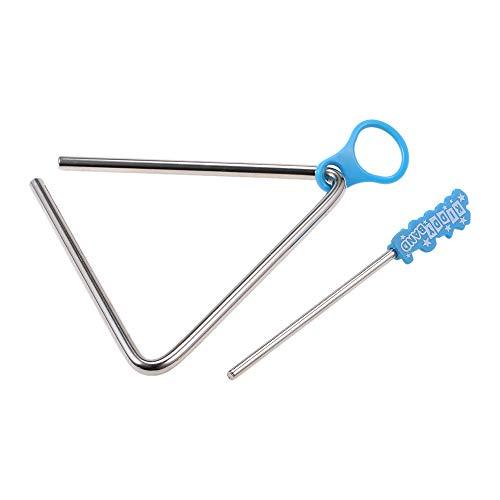 JJmooer Triángulo Instrumentos Musicales Banda Percusión Educativo Musical Triangolo para Niños Regalo