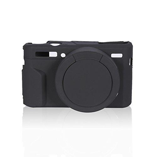 EBTOOLS Custodia Protettiva in Silicone Camera Case Morbido Custodia in Gabbia Leggera in Silicone Custodie e Borse per compatte per Fotocamera per Canon G7XII / G7X Mark II Adatto per Canon g7x Mark