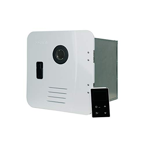 FOGATTI RV Tankless Water Heater [55000 BTU] On Demand Gas Hot Water Heater [Equipped with Digital Controller]