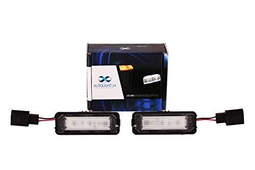 Premium LED Kennzeichenbeleuchtung Nummernschildbeleuchtung 611 19
