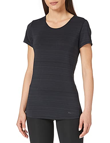 Marmot Aura T-Shirt, Black, L Femme