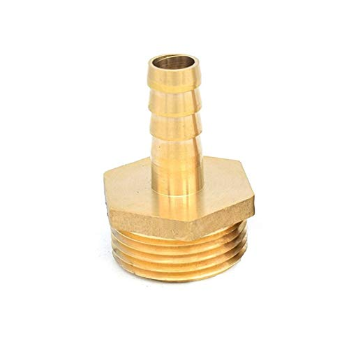 Zxxin-accesorios de tuberia Latón 1/8' 1/4' 1/2' 3/8' BSP macho Conector adaptador de acoplamiento de cobre conjunta, la instalación de tuberías de 4 mm 6 mm 8 mm 10 mm 12 mm 19 mm for manguera de col
