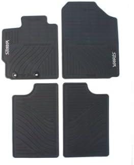 Black Coverking Custom Fit Front Floor Mats for Select Toyota Yaris Models CFMAX1TT7432 Nylon Carpet