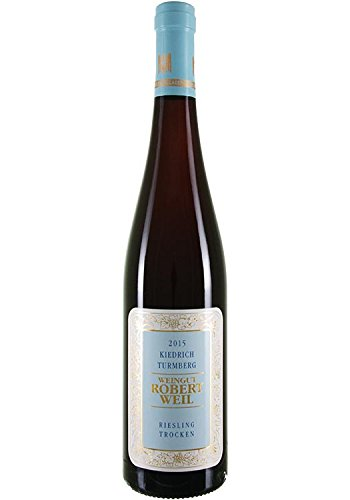 2015er Weingut Robert Weil Kiedricher Turmberg Riesling trocken QbA