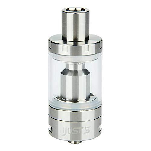 Atomizzatore Eleaf iJust S 4ml polmonare Tank i just Nero Silver ORIGINALE (NO NICOTINA) (SILVER)