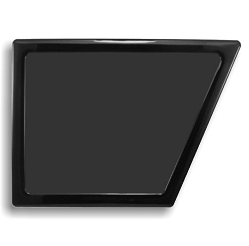 Demciflex Staubfilter für NZXT Phantom 410, Seite, Rahmen schwarz, schwarz Mesh