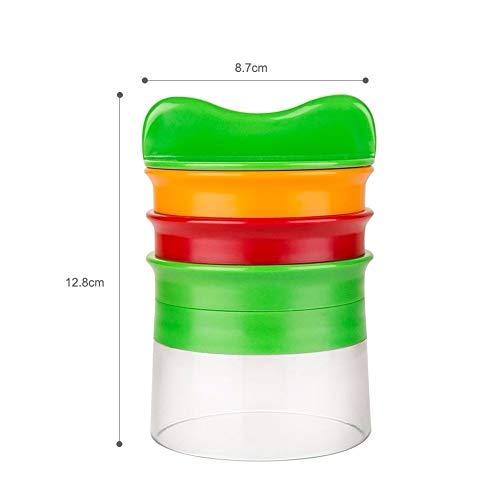 Gemüse- und Obstspiralschneider Schneidemaschine Gemüsespiralmaschine Reibe Karottengurke Kleine Zucchini-Nudelmaschine mit Zucchini