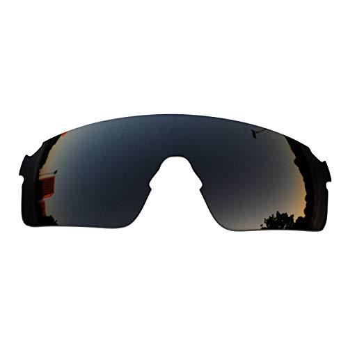SOODASE Para Oakley EVZero Blades Gafas de sol Negro Lentes de repuesto polarizadas
