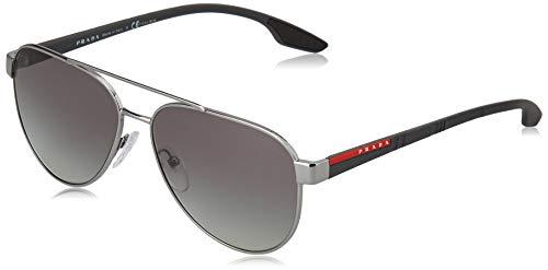 Prada LINEA ROSSA 0PS 54TS Gafas de sol, Black, 58 para Hombre