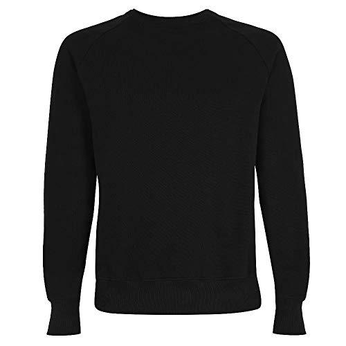 EarthPositive - Men's Organic Sweatshirt/Black, M