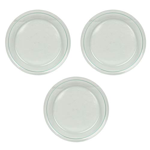 Pyrex Glass Bakeware Pie Plate 9' x 1.2' (Pack of 3)