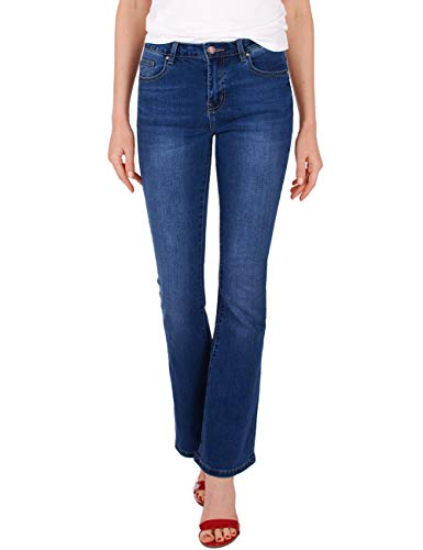 Fraternel Dames Jeans Spijkerbroek Boot gesneden stretch