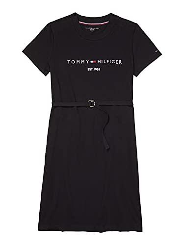 Preisvergleich Produktbild Tommy Hilfiger Adaptive Damen ADP W EU ESS Hilfiger RE CNK DRE Kleid,  Th Deep Black
