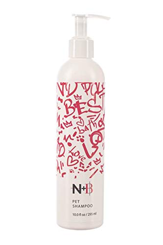 Nicole + Brizee N+B Pet Shampoo   for All Breeds and Hair Types   Made Natural and Organic Ingredients   Made in The USA