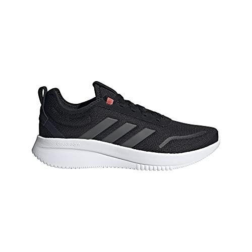 adidas Lite Racer REBOLD, Zapatillas de Running Hombre, NEGBÁS/Gricin/Rojsol, 42 EU