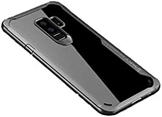 Ipaky creative shockproof TPU soft and hard shell cover for Samsung S9 plus-Grey