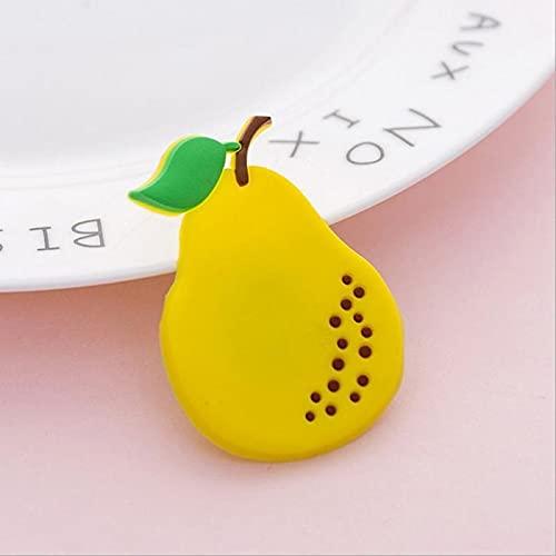 Huixindd 1 Pieza de magnético imán de frigorífico de Fruta Colorida Dibujos Animados Silicona Pegatina magnética Accesorios refrigerador decoración del hogar (Color : 04, Envio de : China)
