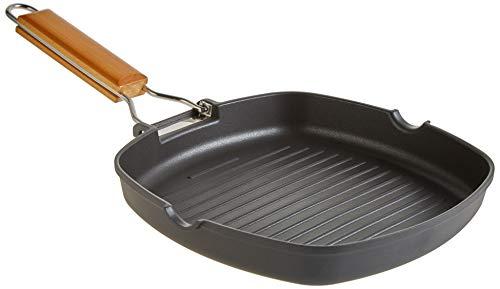 WECOOK Ecosteel Wok alum Forg/é Eco Steel 28 cm acier inoxydable noir