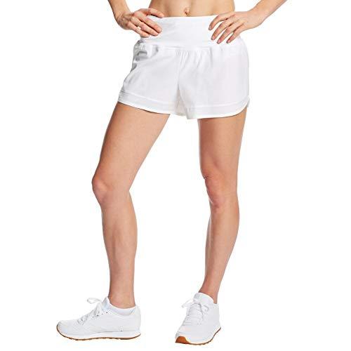 C9 Champion Women's 3.5' Knit Premium Running Shorts, True White, L