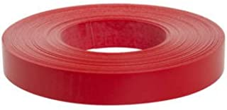 Slatwall Accent Strip, Red Vinyl 128' x 1.18