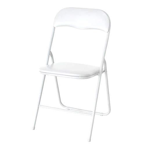 Klappstuhl Klappstühle Kunstleder - Weiß - 2X 4X Stühle Stuhl (4)
