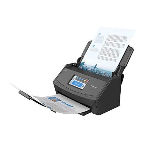 ScanSnap iX1500 Nera - Scanner di documenti per ufficio - A4, Duplex, Touchscreen ADF, Wi-Fi, USB3.1