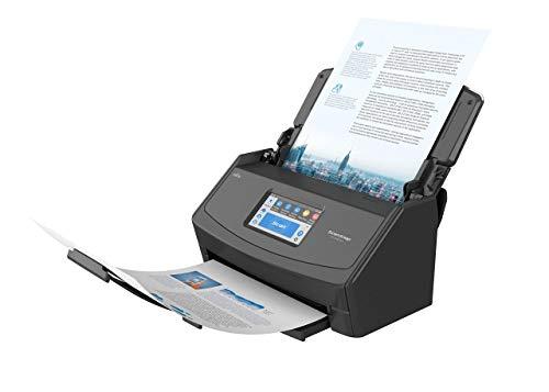 ScanSnap iX1500 Version Noire - Scanner de Documents - Recto Verso, A4, Wi-FI, sans Fil