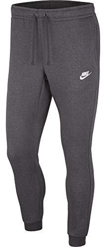 Nike Sportswear Club - Pantalón deportivo para hombre - 804408, Sportswear Club Joggers, XL, Gris oscuro/Obsidiana/Blanco
