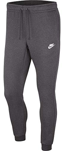Nike Sportswear Club Jogger Pantalón deportivo para hombre - 804408, Sportswear Club Joggers, M, Gris oscuro/Obsidiana/Blanco