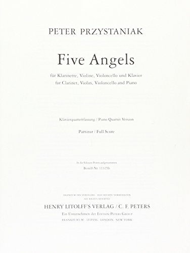 Five Angels: Partitur