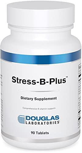 Douglas Laboratories - Stress-B-Plus - Comprehensive B Vitamin Complex - 90 Tablets