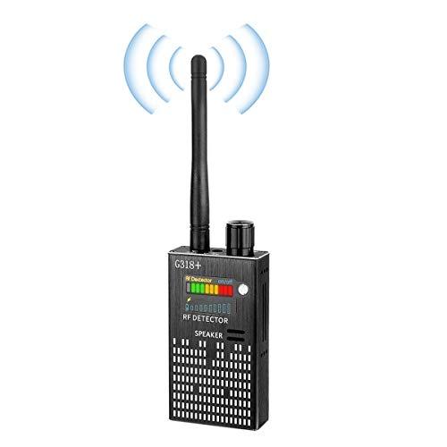 RUIZHI Anti-Spy Wireless RF Signal Detector Set [2019 Ultimo aggiornamento] Bug GPS Camera Signal Detector , for Hidden Camera gsm Listening Device GPS Radar Radio Scanner