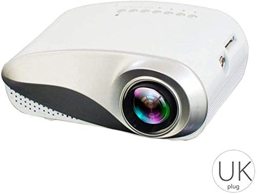 Draagbare mini-projector Home Theatre Cinema Led Lcd Beamer 1080p USB-video voor draadloos scherm Mirroring Display Home Theatre-video