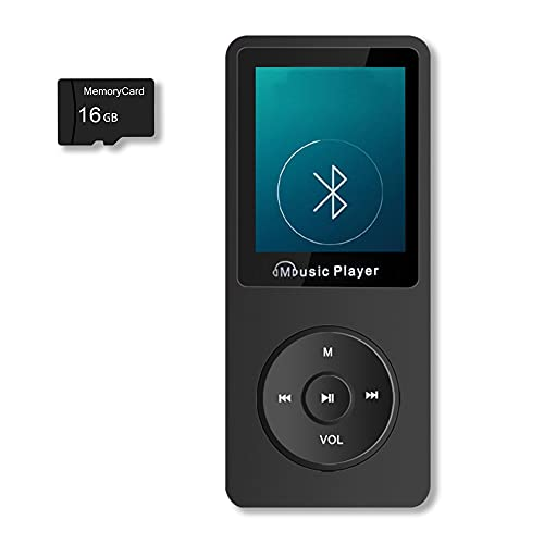 MP3 Player, 16GB MP3 Player Bluetooth...