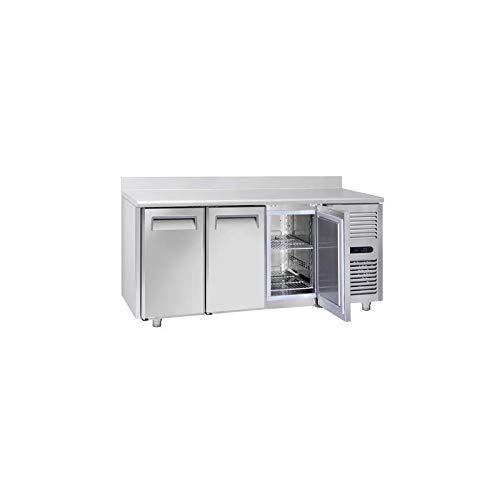 Table Réfrigérée Négative Tropicalisée 3 Portes GN 1/1 avec Dosseret - Profondeur 700 - Cool Head - 700