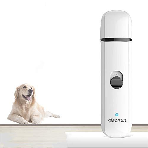 Nuoyi Recortadora eléctrica para Mascotas Pulidor de uñas: Carga USB de bajo...