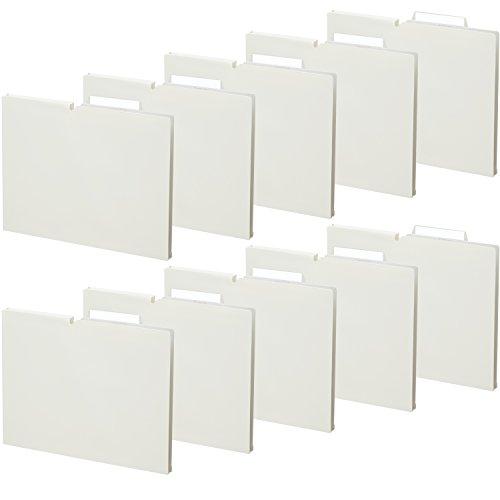 コクヨ ファイル 個別フォルダー NEOS A4 15mm 3辺とじ 10冊 オフホワイト A4P-NEF15WX10