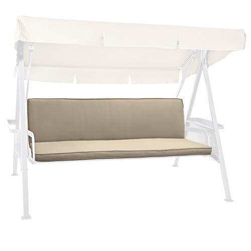 Beautissu Cuscini per dondoli e altalene da Giardino & Balcone Loft HS - Set da 2 unità 180x50 cm - Beige