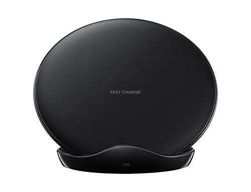 SAMSUNG FAST CHARGE WIRELESS CHARGER STAND WITH TRAVEL CHARGER - BLACK FOR GALAXY S9/S9+