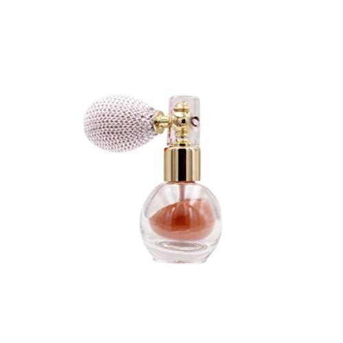 ZYCX123 Proyección de Polvo de Maquillaje del Brillo del Reflejo aclaran Aroma de resaltado Pigmento en Polvo para la Cara del Cuerpo del Pelo -Rose Recuerdos de Oro