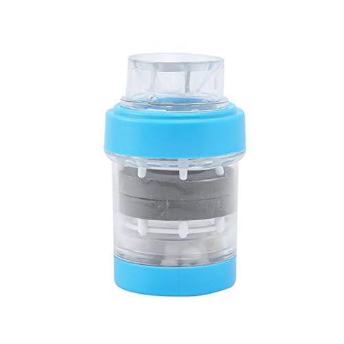 Maifan Stone - Purificador de Agua magnético para Grifo de Cocina, Filtro de Agua, Filtro de Agua para Grifo de baño, purificador de Agua a presión de Mano, Color Azul: Amazon.es: Hogar
