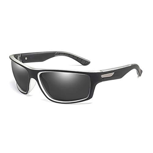 Soleil Sport Zonnebril, gepolariseerd, ultralicht, spiegel voor mannen