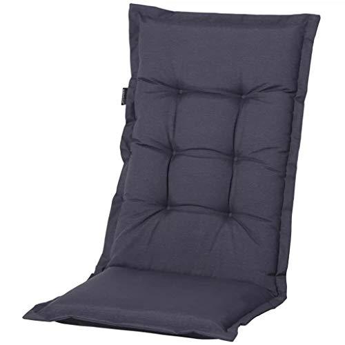 Madison – Coussin pour fauteuil à dossier haut – extérieur Panama Gris