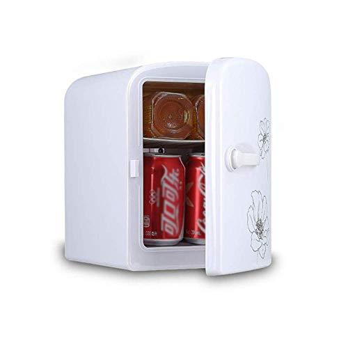 LYJ 4 litros de mini nevera con la refrigeración y la función de calefacción - refrigerador termoeléctrico for bebidas de la comida, ideal for el hogar, oficina, coche y el dormitorio