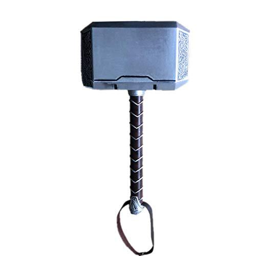 Damdos Cosplay Prop 44cm 1:1 Martello Stormbreaker Thor Thunder Hammer in schiuma PU con cintura di Halloween Cosplay Prop regali di compleanno