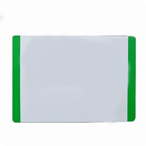 Pizarra pequeña magnética regrabable de borde de color Adecuado para refrigerador/superficie de hierro (Color : 4)