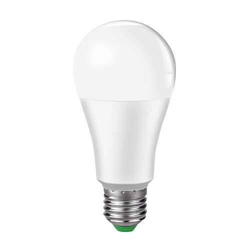 RZL - Bombilla LED de 15 W, WiFi, bombilla inteligente, bombilla LED E27 B22, 85-265 V, intensidad...