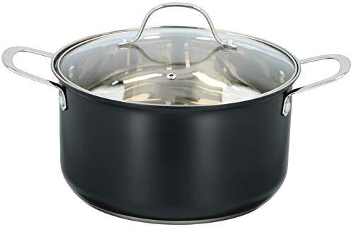Alpina Cuisinière Noir 24 cm